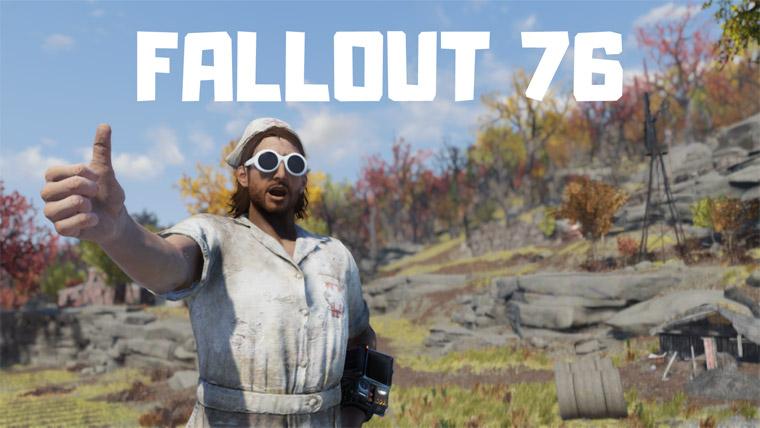 【初心者向け】Fallout76を楽しむ為に絶対に押さえておきたいポイント紹介!