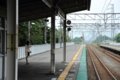 京都新聞写真コンテスト 北小松駅にて