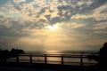 京都新聞写真コンテスト 琵琶湖と空
