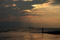 京都新聞写真コンテスト 琵琶湖と釣り人