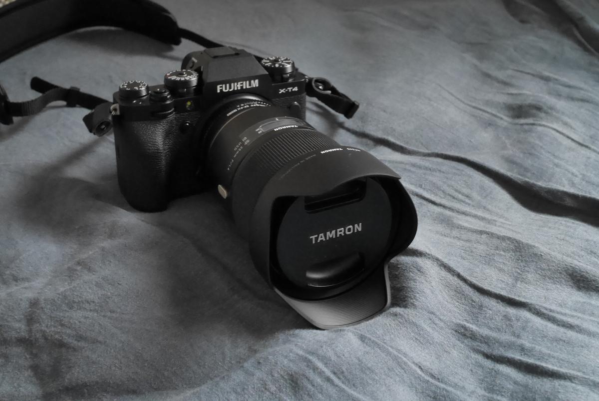 X-T4用に追加購入したレンズ!Tamron35mmF1.4
