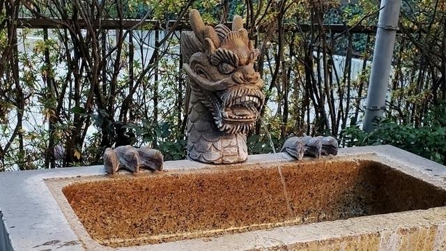 水天宮平沼神社の手水舎