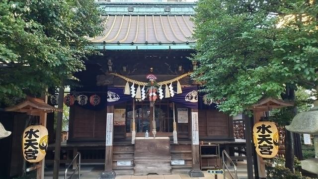 水天宮平沼神社の拝殿