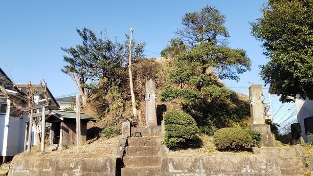 西谷冨士 富士塚
