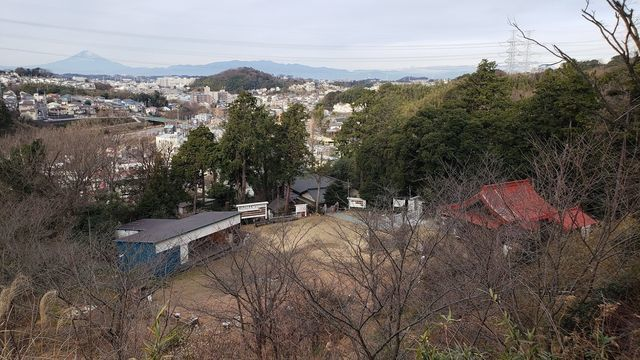 思金神社 富士山絶景展望台