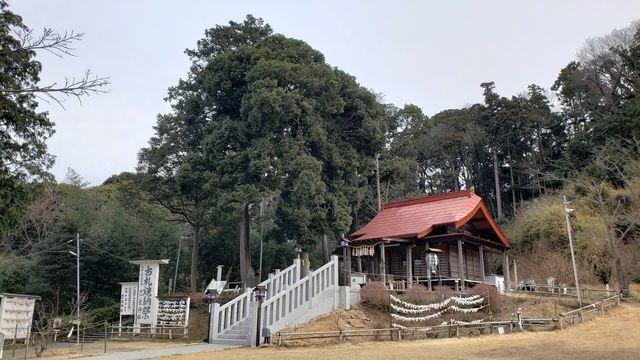 思金神社 拝殿