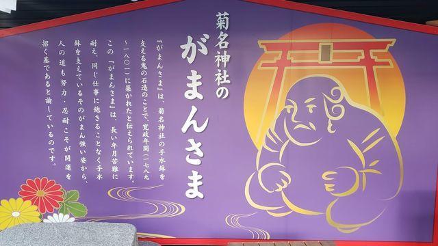 菊名神社がまんさま
