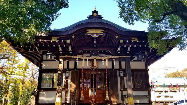 橘樹神社の社殿