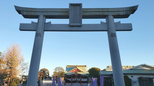 潮田神社の鳥居
