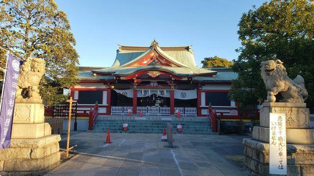 潮田神社の社殿