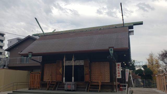 鶴見神社の拝殿