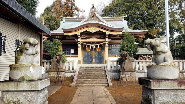 北新羽総鎮守杉山神社
