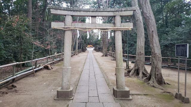 喜多見氷川神社の第二の鳥居