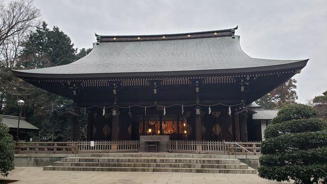 喜多見氷川神社の拝殿