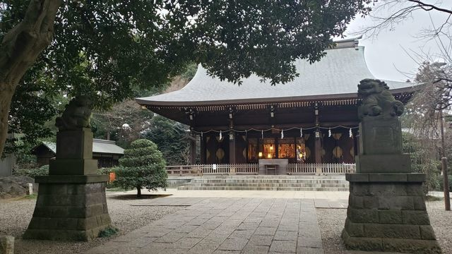喜多見氷川神社