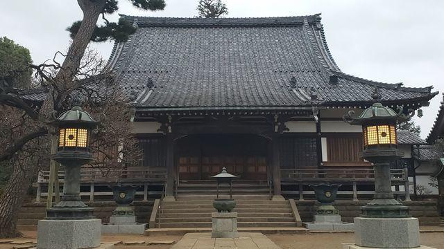 慶元寺の本堂