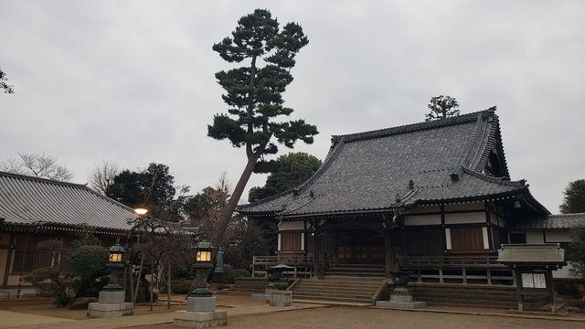 慶元寺の境内