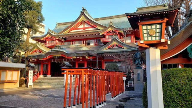 京浜伏見稲荷神社の社殿