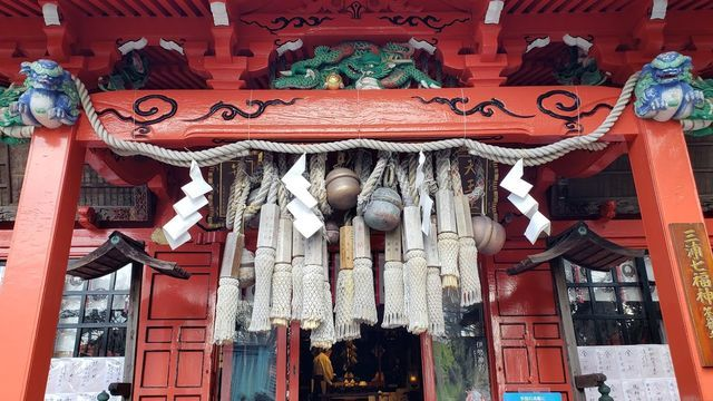 海南神社の拝殿