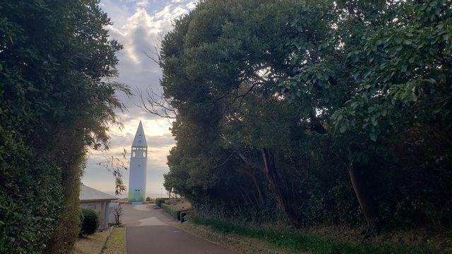 城ケ島公園の安房埼灯台