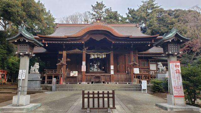 等々力玉川神社の社殿