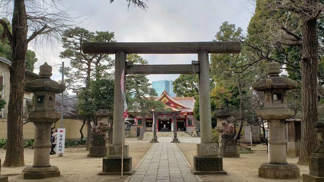 品川神社の第二の鳥居