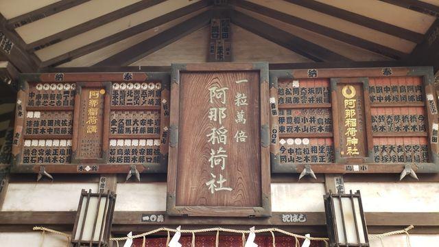 品川神社境内社/阿那稲荷神社