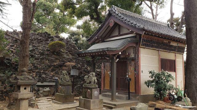 品川神社境内社/浅間神社
