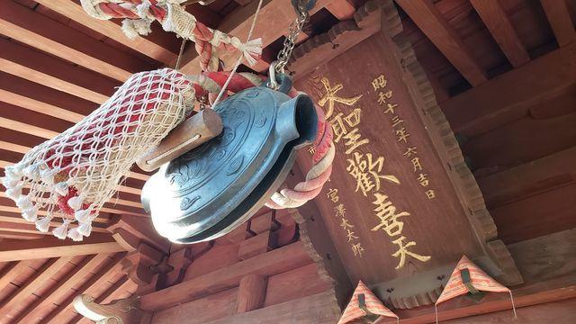 弘明寺聖天堂の扁額