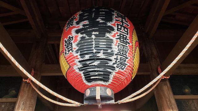 弘明寺仁王門の提灯