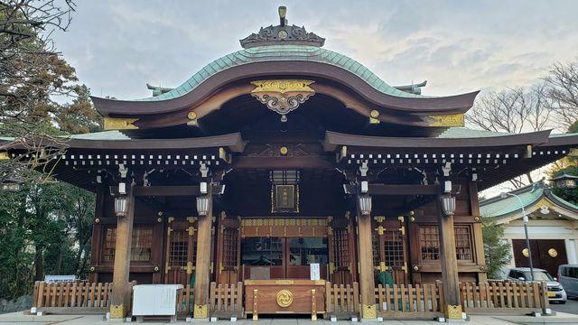 六郷神社の拝殿