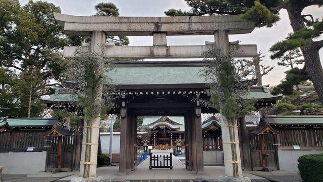 六郷神社の鳥居