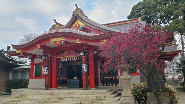 品川神社の拝殿