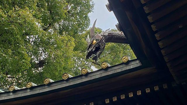 荏原神社の龍神様