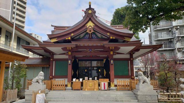 蒲田八幡神社1