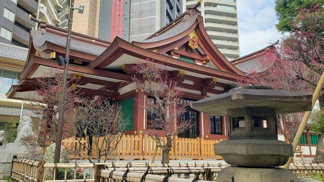 蒲田八幡神社の社殿