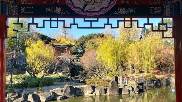 藩秀園(大師公園)の知春亭