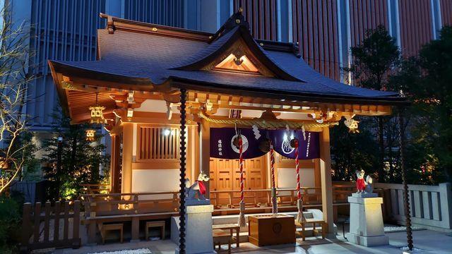 夜の福徳神社
