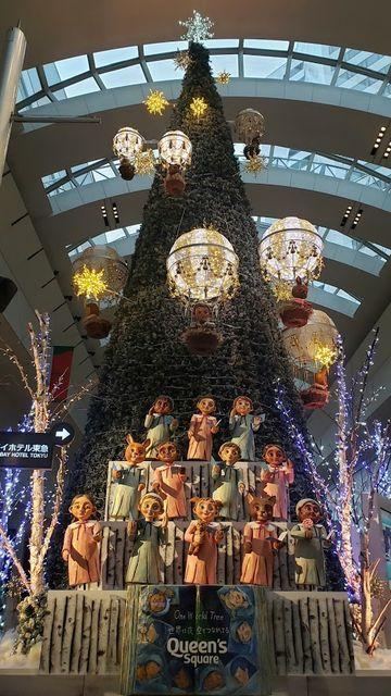 クイーンズスクエアのXmasツリー