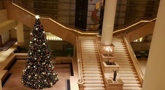 横浜インターコンチネンタルホテルのXmasツリー