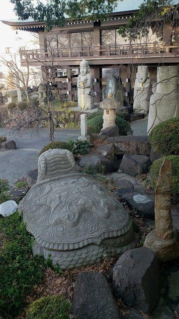 善養密寺の庭園