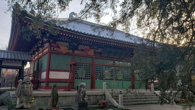 善養密寺の本堂