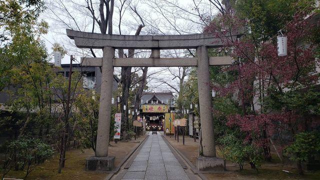 溝口神社の鳥居