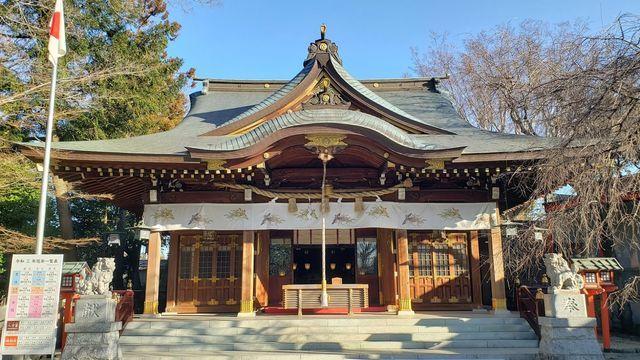 鈴鹿明神社の拝殿