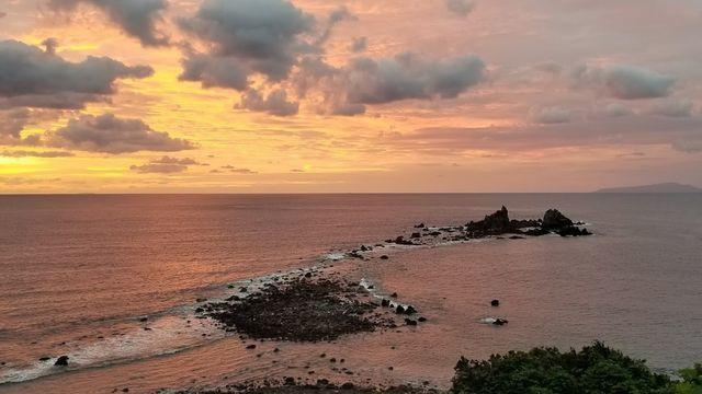 真鶴半島の日の出