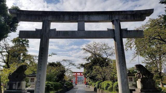 富士山本宮浅間神社の鳥居