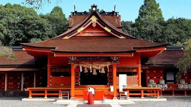 富士山本宮浅間神社の拝殿