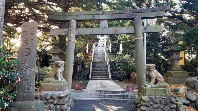 大瀬神社の鳥居