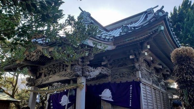 大瀬神社拝殿