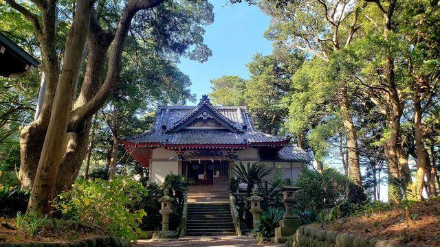 諸口神社の社殿
